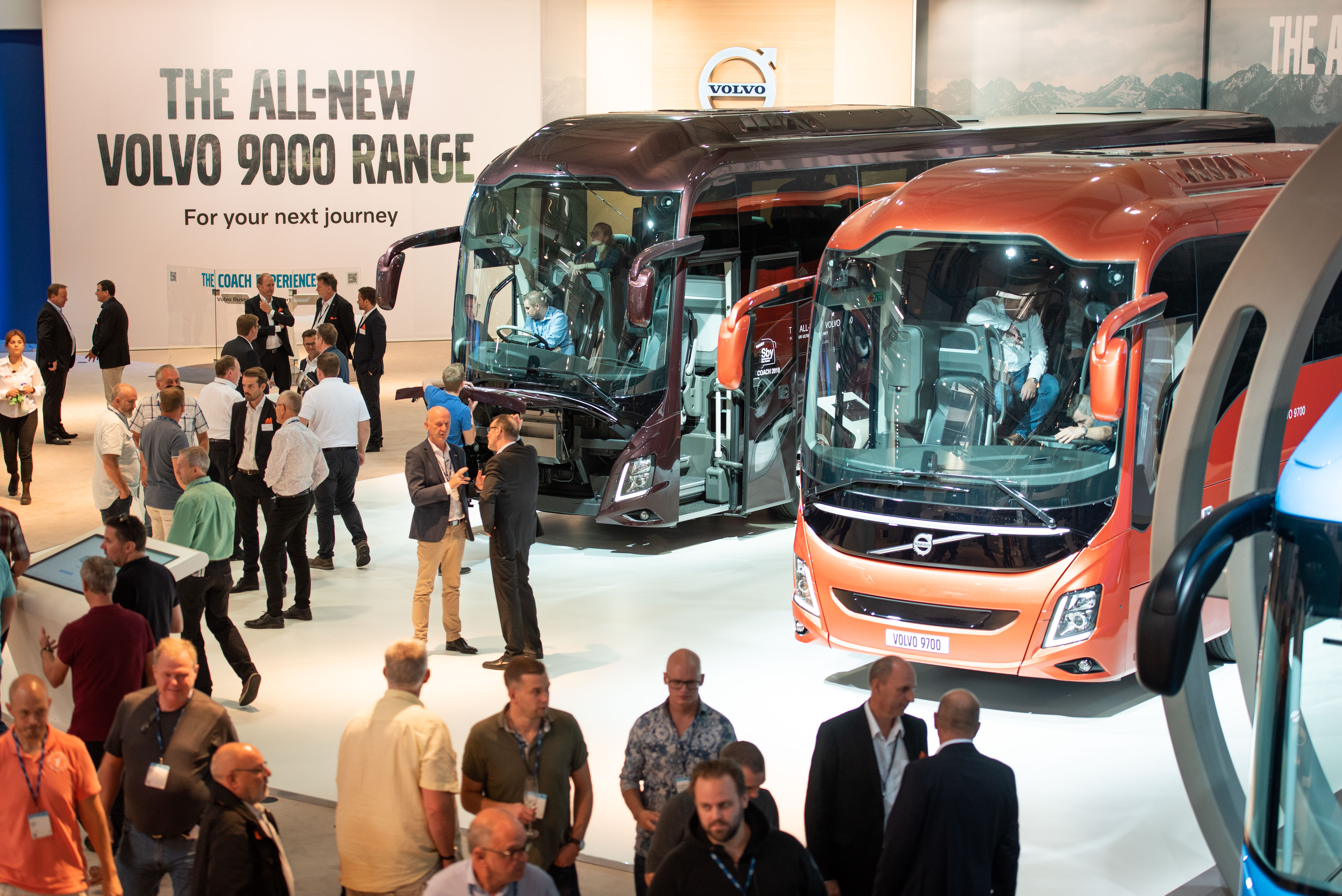 Volvo Exhibition Stand : Volvo buses new coach wins sustainable bus award auto futures