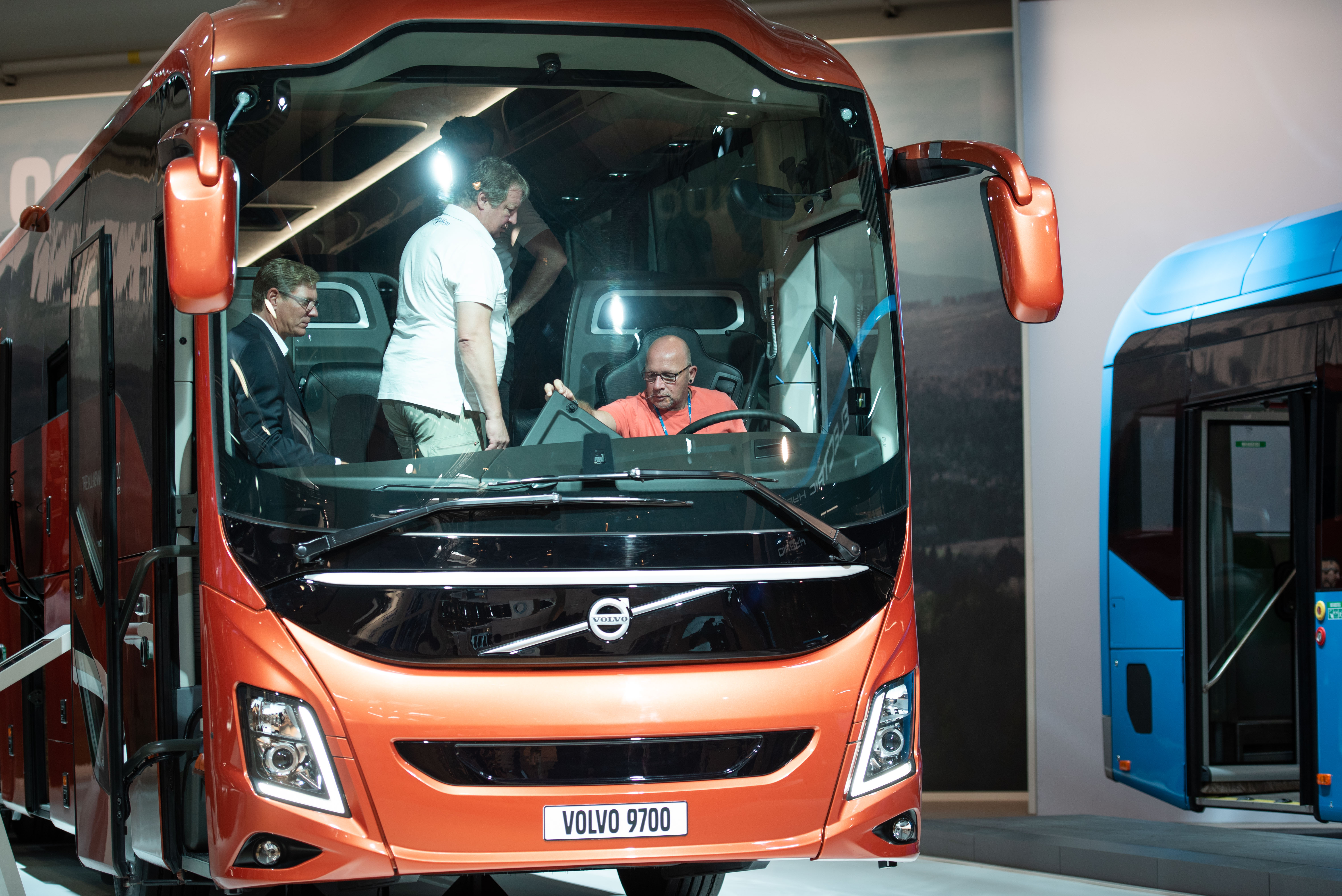 Volvo Buses' new coach wins Sustainable Bus Award