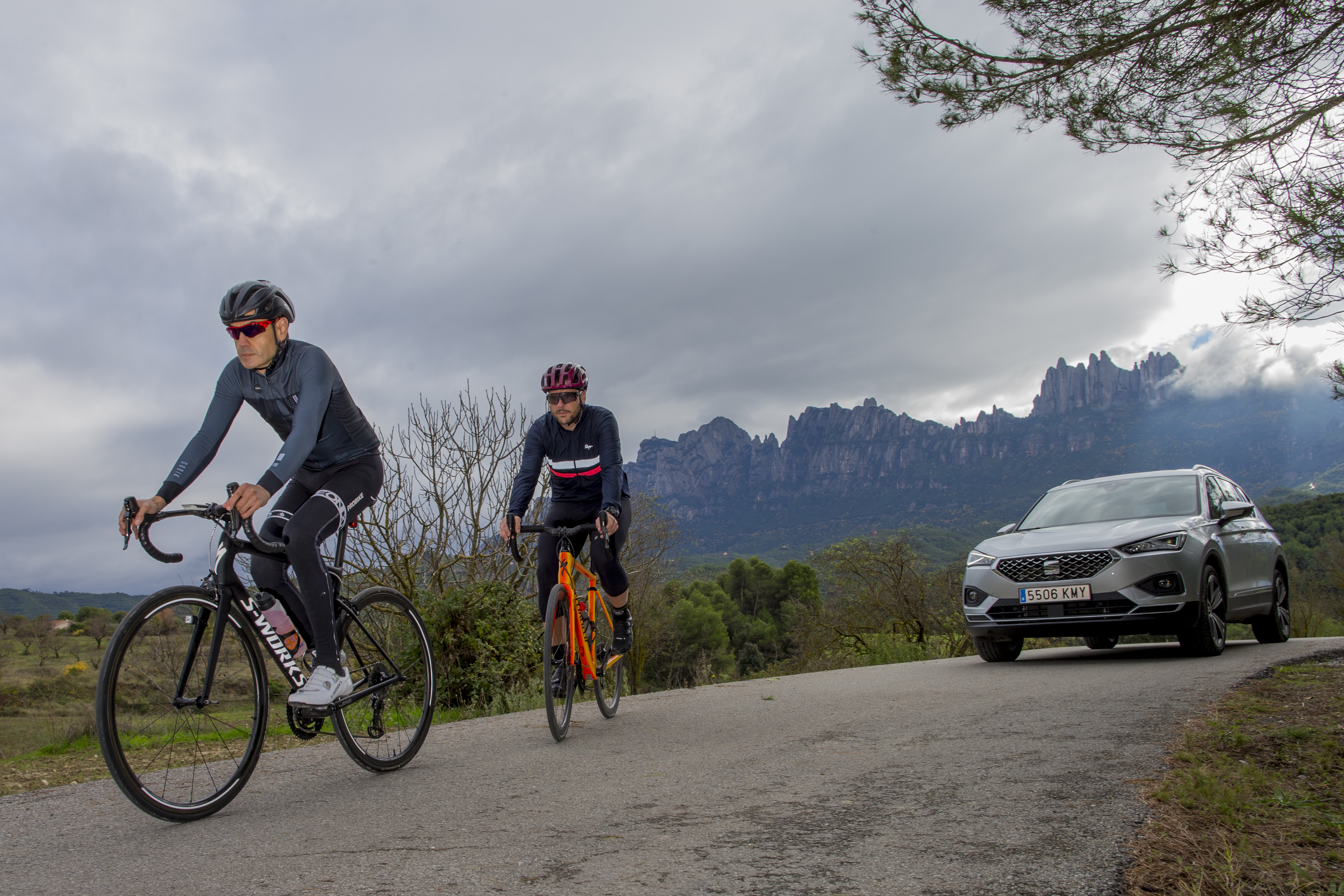 The new SEAT Tarraco includes an assistant that detects the presence of cyclists