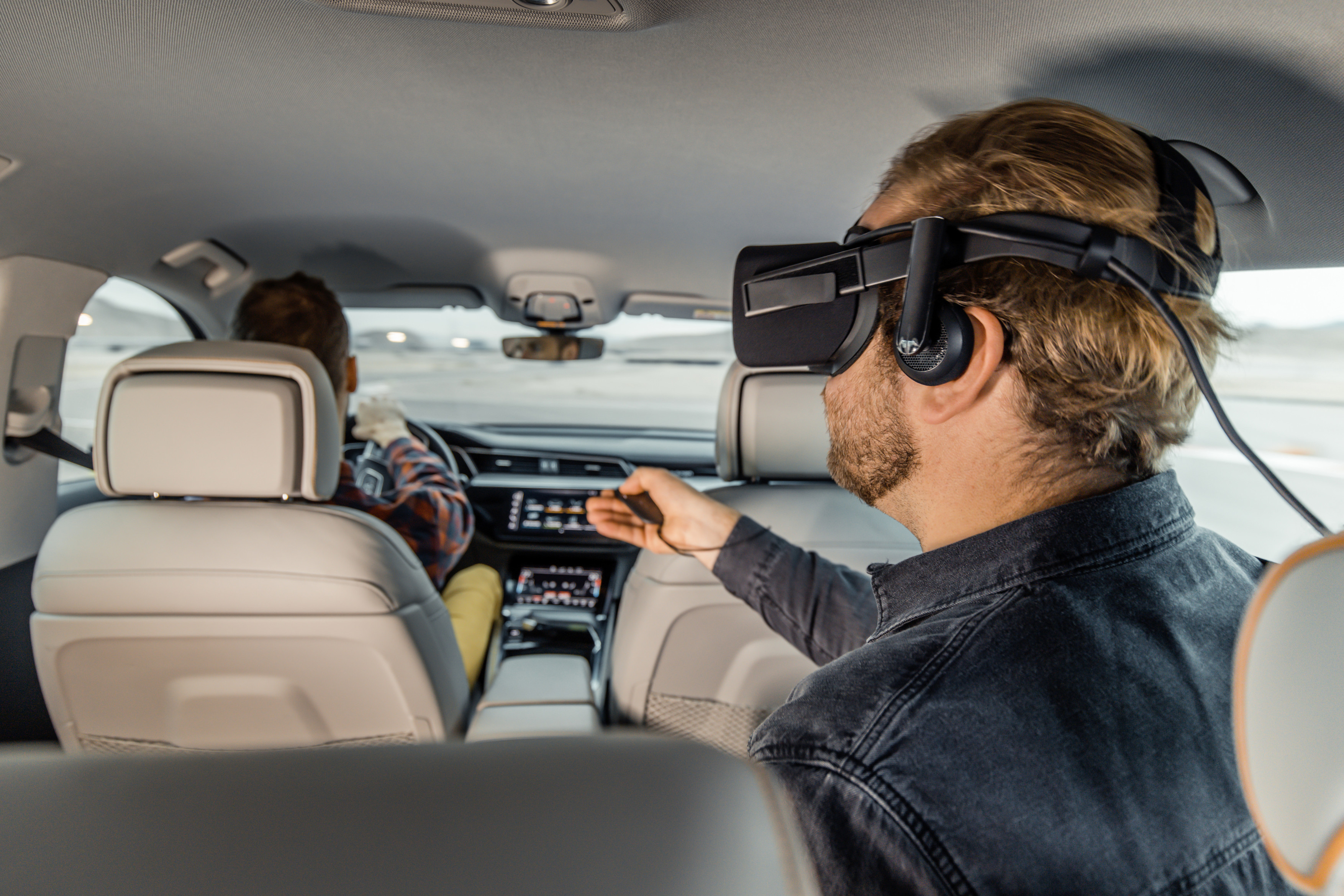 In car entertainment VR